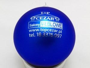 blue balls with logo top cezar