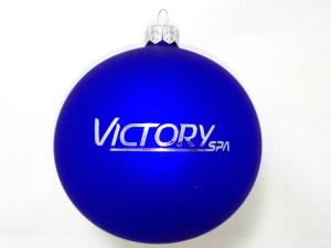 blue balls with logo victoryspa