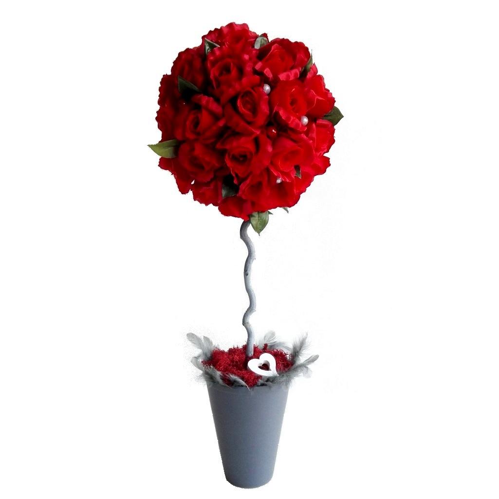 Dekoracyjne drzewko Walentynkowe