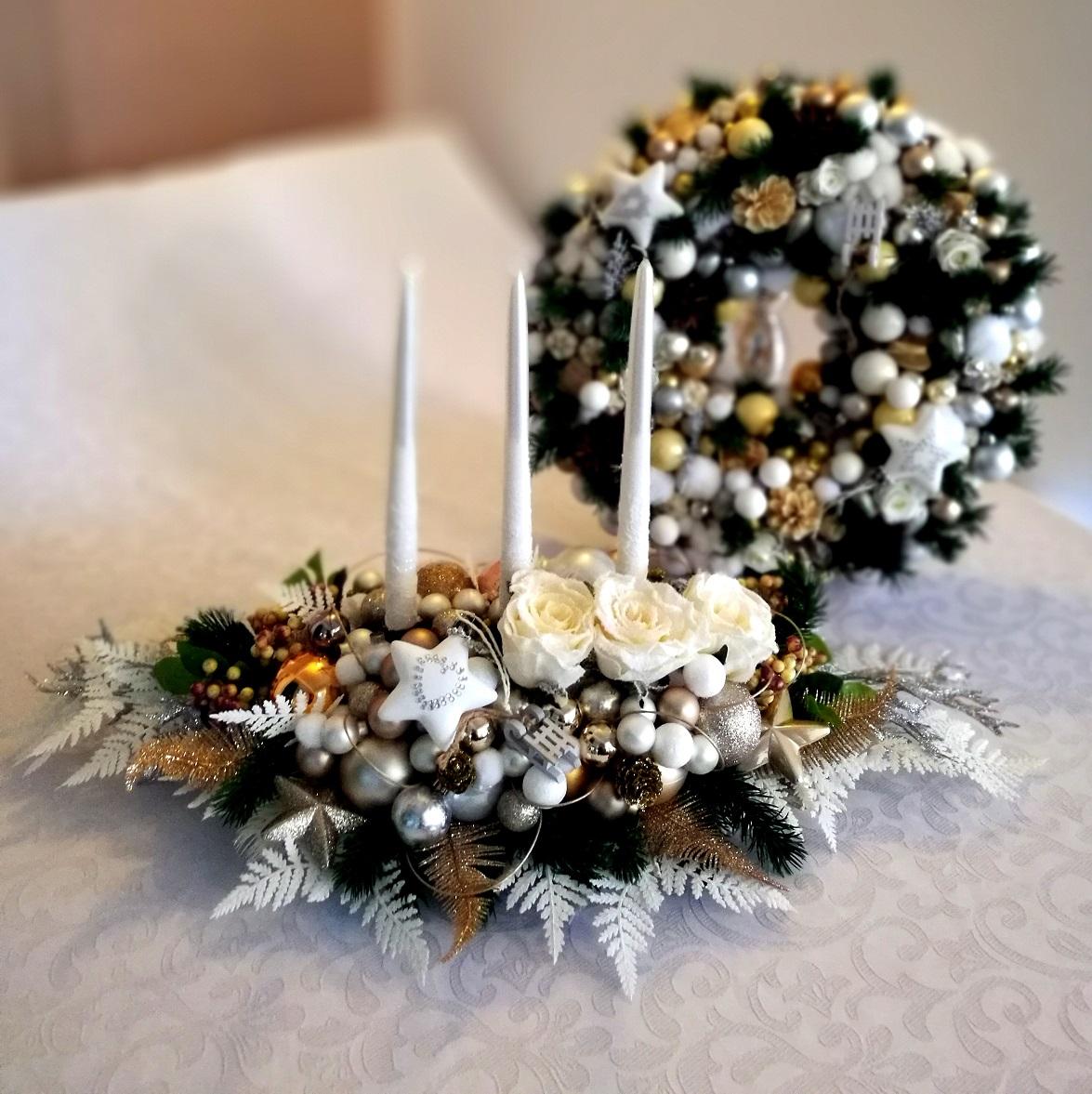 Stroik świąteczny Magiczny wieczór