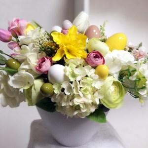 Wielkanocny stroik Wiosenna radość nr 295