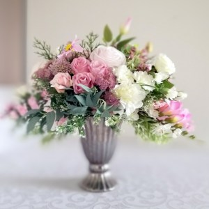 Kompozycja kwiatowa Wiosenne pastele nr. 196