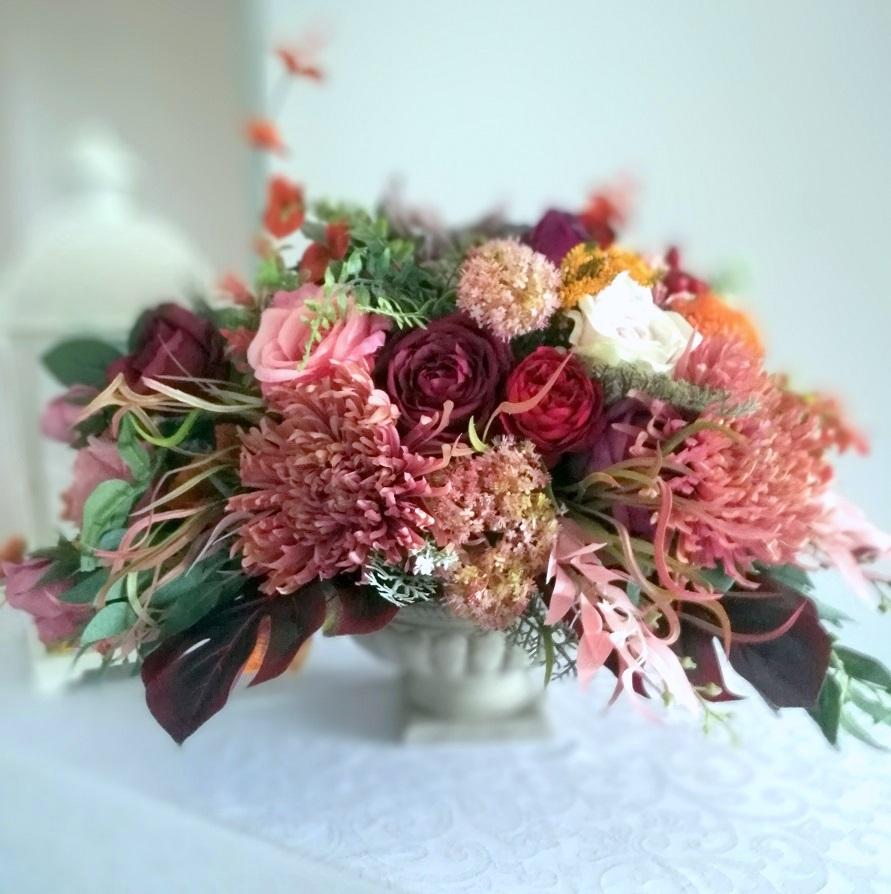 Kompozycja kwiatowa jesienne kwiaty nr. 205