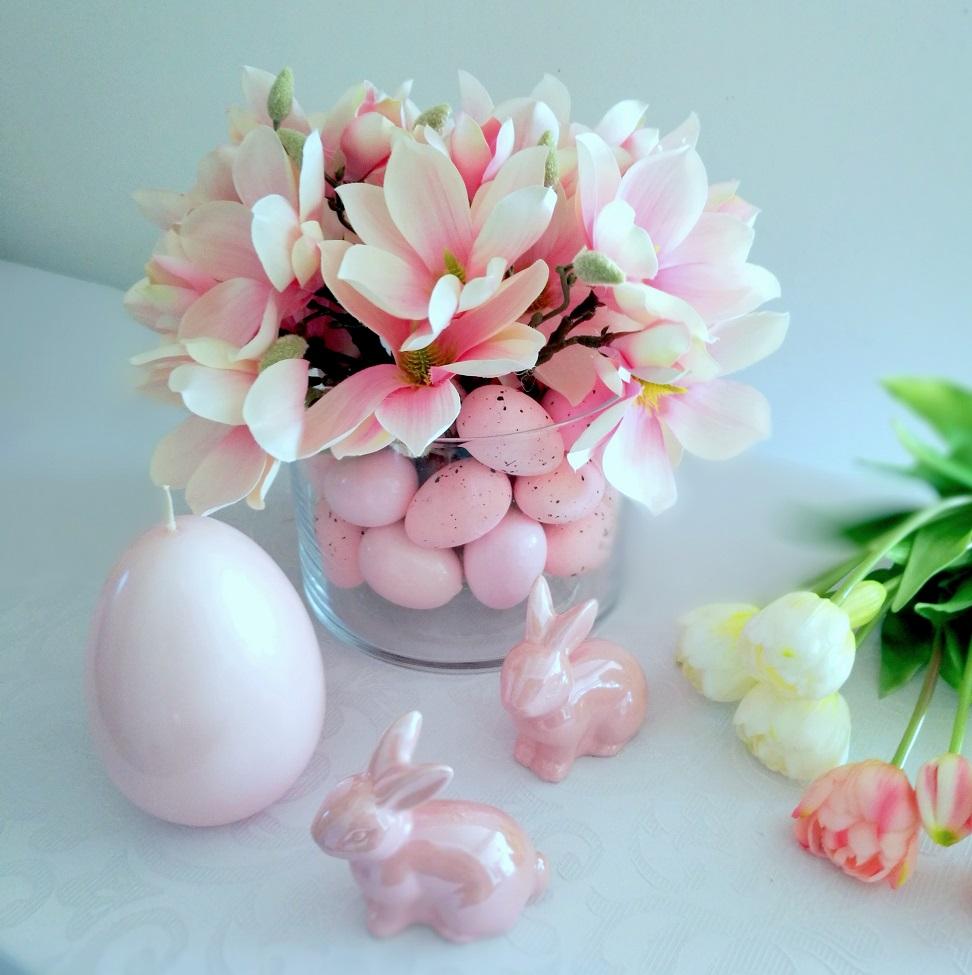 Piękna magnolia w szkle nr 306