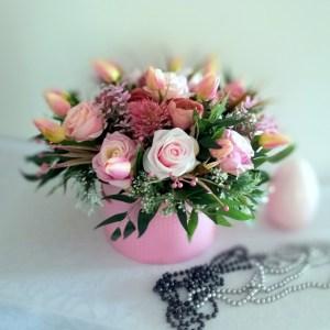 Wiosenne kwiaty w pudełku nr. 234