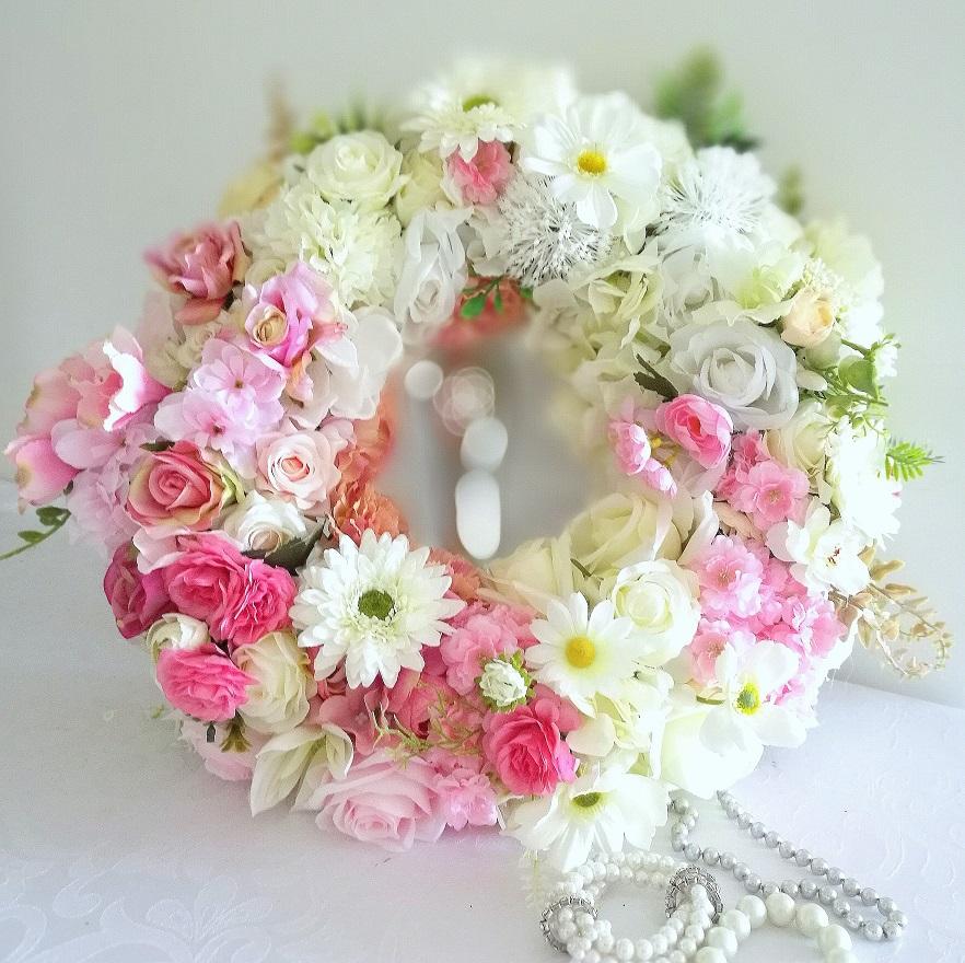 Wianek kwiatowy Subtelność nr 132