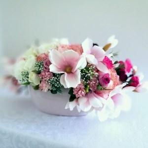 Kompozycja kwiatowa Słodka magnolia nr 351