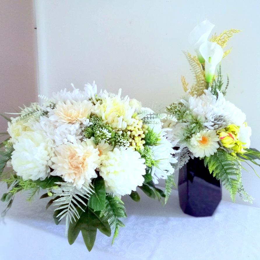 Zestaw nagrobny jesienne kwiaty nr 359