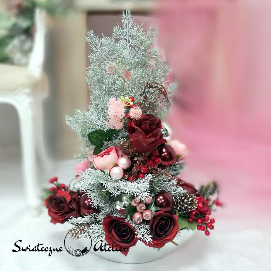 Dekoracja świąteczna Cudowne święta nr 389