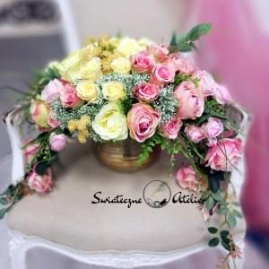 Kompozycja kwiatowa Słodycz nr 420