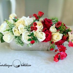 Kompozycja kwiatowa Uroczy wieczór nr 406