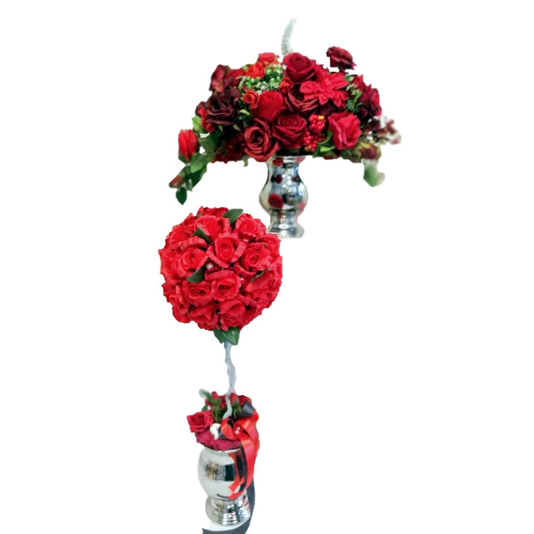 Kompozycja i drzewko kwiatowa kwiatowe