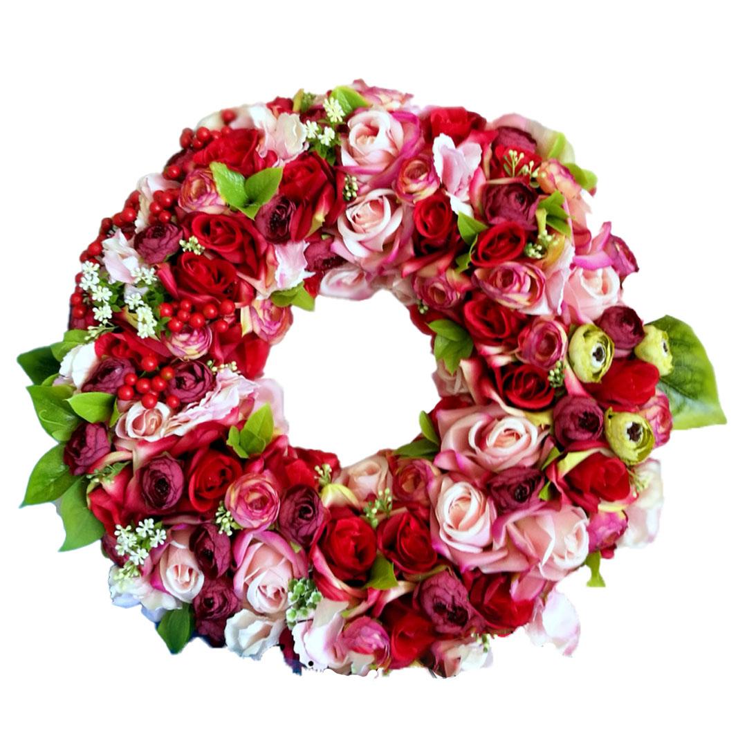 Wianek kwiatowy Wspólne chwile nr 175