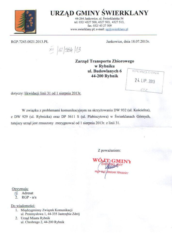 urzad-gminy-swierklany-rezygnuje-ztz-rybnik