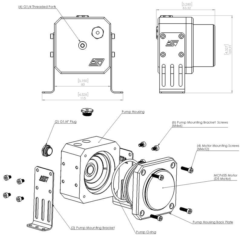 pc cooling diagram