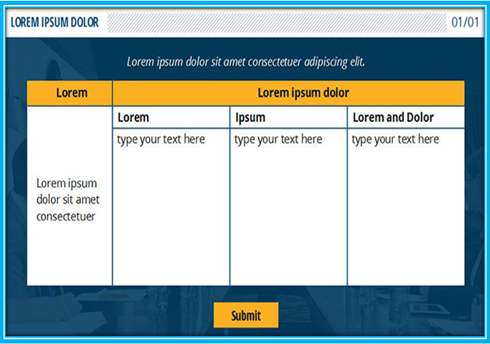 Articulate Storyline Interactive Quiz templates-AS2-Quiz-003-1
