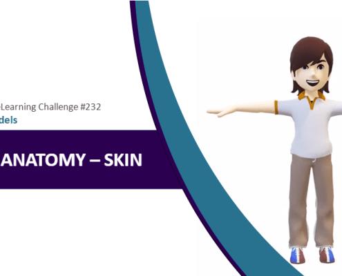 Human Anatomy Skin M