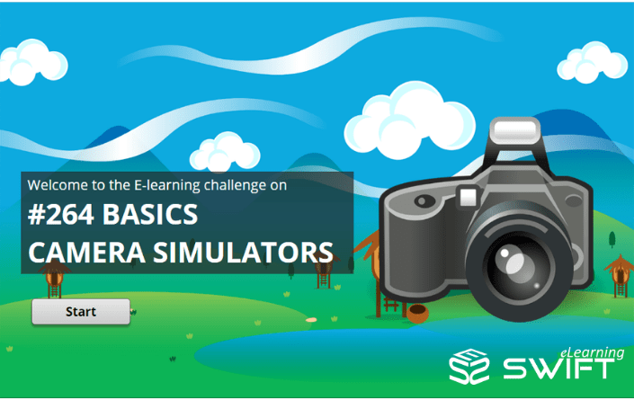 Basics of Photography eLearning Simulation Example