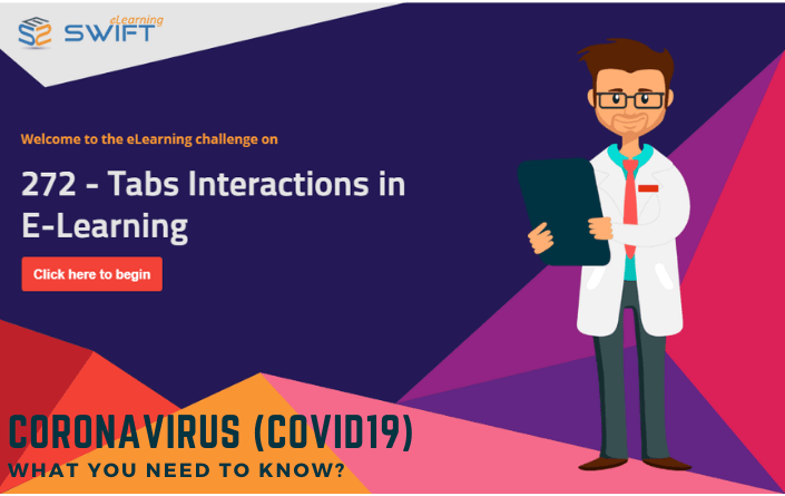 Articulate Storyline - Tabs Interactions in E-Learning-design-example-CORONAVIRUS (covid19)