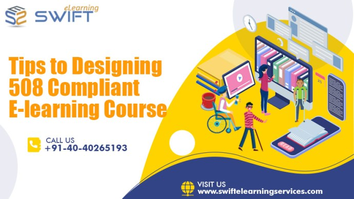 Tips to Designing 508 Compliance Elearning Courses