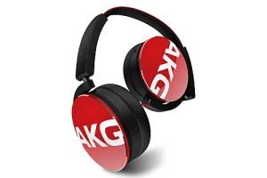 AKG Y50BT Red Headphones