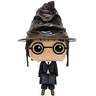 Funko Pop Harry Potter 21 Harry Potter with Sorting Hat
