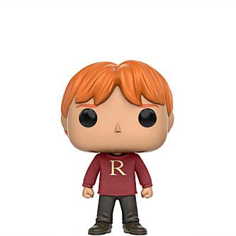 """Funko Pop Harry Potter 28 Ron Weasley """"R"""" Sweater"""