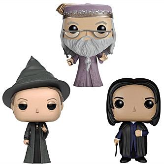 Funko Pop Harry Potter 3 Pack Albus Dumbledore Minerva McGonagall Severus Snape
