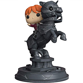 Funko Pop Harry Potter Movie Moments 82 Ron Weasley Riding a Chess Piece