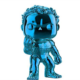 Funko Pop Marvel Avengers Endgame 499 Hulk Blue Chrome