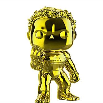 Funko Pop Marvel Avengers Endgame 499 Hulk Gold Chrome