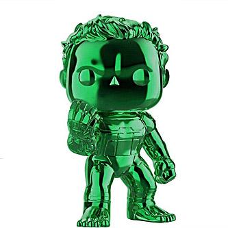Funko Pop Marvel Avengers Endgame 499 Hulk Green Chrome