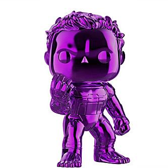 Funko Pop Marvel Avengers Endgame 499 Hulk Purple Chrome