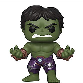 Funko Pop Marvel Avengers Game 629 Hulk in Stark Tech Suit