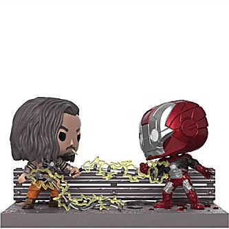 Funko Pop Marvel Collector Corps Iron Man vs Whiplash