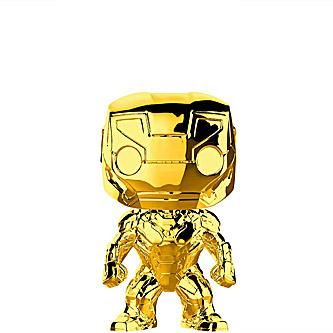 Funko Pop Marvel Studio First 10 Years 375 Iron Man Gold Chrome