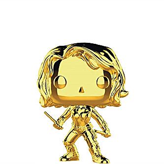 Funko Pop Marvel Studios First Ten Years 380 Black Widow Gold Chrome