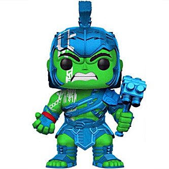 Funko Pop Marvel Thor Ragnarok 241 Hulk Gladiator Metallic