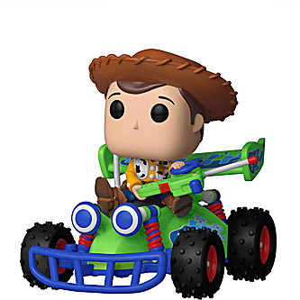 Funko Pop Rides Disney Toy Story 56 Woody with RC