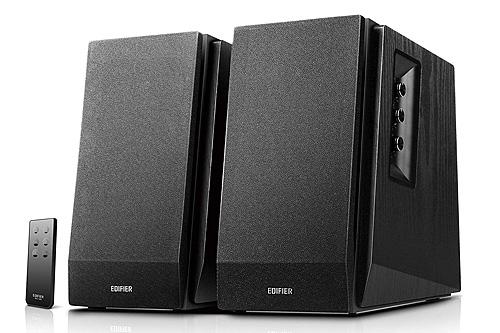 Edifier R1700BT Active Powered Bookshelf Speakers - Black