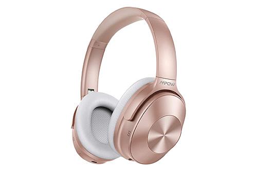 Mpow H12 ANC Headphones Rose Gold