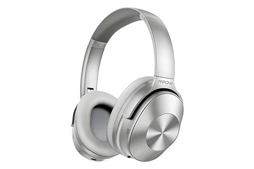 Mpow H12 ANC Headphones Silver