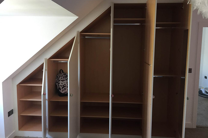 Sloping Wardrobes Swift Fitted Furniture Bespoke