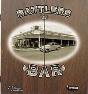 DARTBOARD CABINET MDF - BATTLERS BAR
