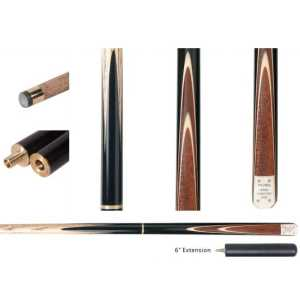"""3/4 ASH CUE - FURY SN-2 WITH 6"""" EXTENSION - 57"""" 9.5mm TIP"""