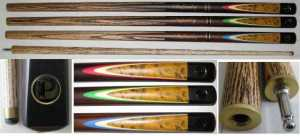 "2 PIECE ASH CUE - POWERPLAY INFINITY - 57"" 10mm TIP"