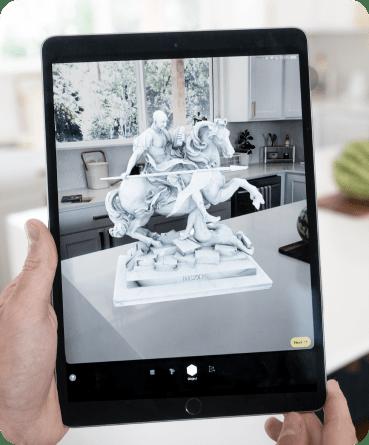 Augmented Reality on iPad
