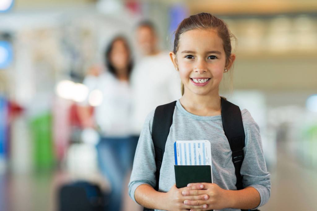 how to get a passport for a child