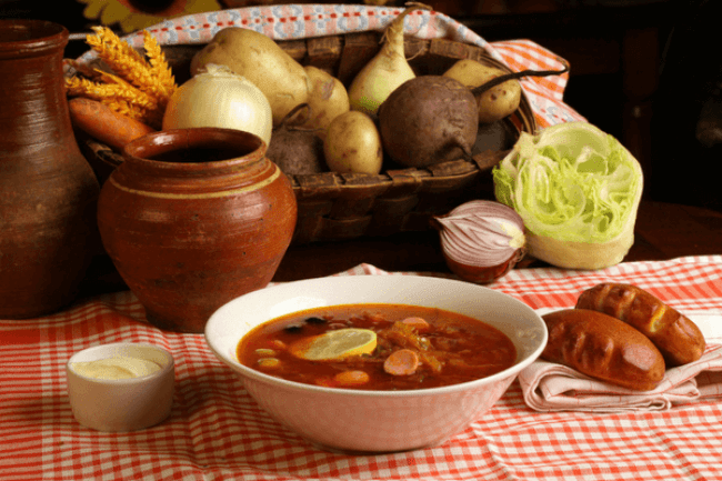 popular russian food dishes