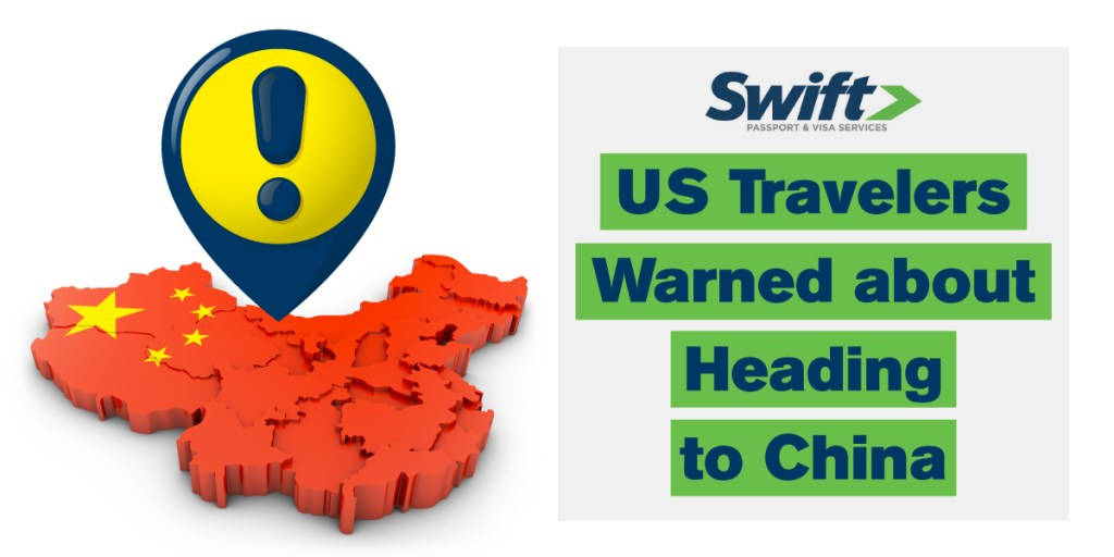 U.S. Travel Warning Issued for China